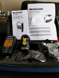Mastercraft Hawkeye laser level & Cross-hair laser level kit