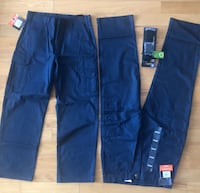 2 Dakota stretch twill cargo work pants & Belt (firm!!)