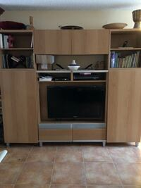 Beautiful wall unit from Ikea original price $700 . Moving to a smaller place. Price negotiable. Baltimore, 21230