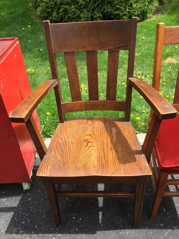 Used Antique Wooden Chair For Sale In Brampton Letgo