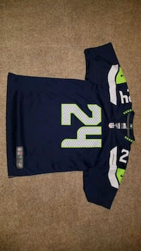 Marshawn Lynch Nike Jersey Youth Large Jessup, 20794
