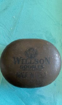 Vintage Wilson goggles tin can Springfield, 22153