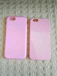Pink apple iphone 6 silicone cases (set of 2) London, N6G 0G4