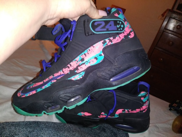 ce751f4626 Used Nike Air Griffey Max 1 Dark Concord/Hyper Jade for sale in ...