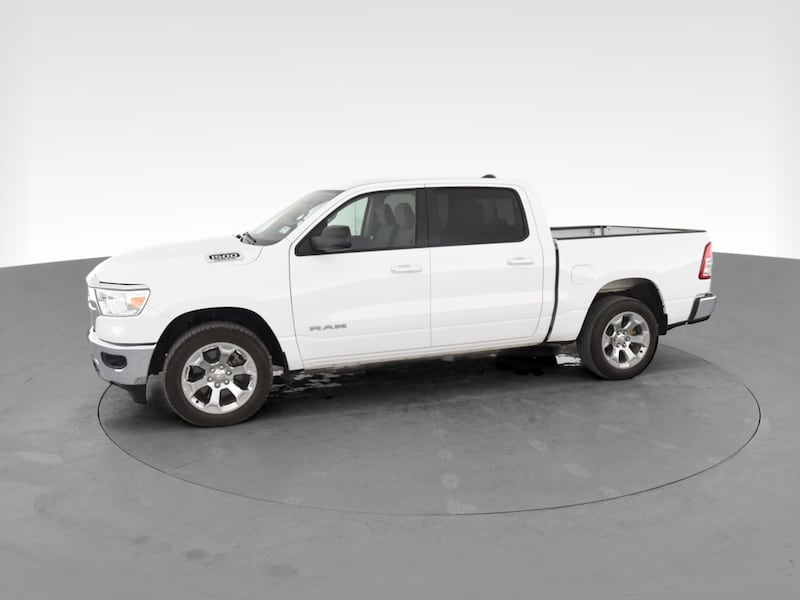 2019 Ram 1500 Crew Cab pickup Big Horn Pickup 4D 5 1/2 ft White 3