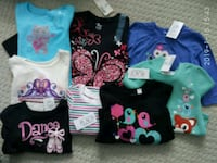 NWT 6-9months baby girls' long sleeves Markham, L6C