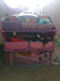 Disney Multi-Bin Toy Organizer, Minnie Mouse  133 mi