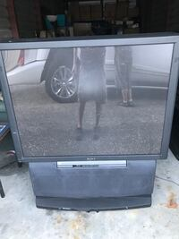 Sony rear projector television