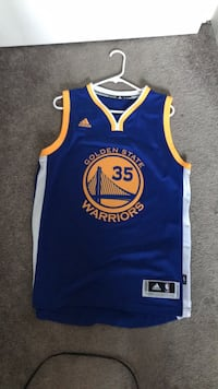 Kevin Durant golden state jersey