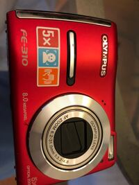 Olympus FE-310 camera and case for sale  Toronto, M3C 3T9