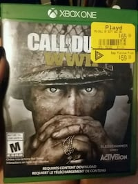 Cod ww2 for xbox one  Toronto, M1V 2Z1