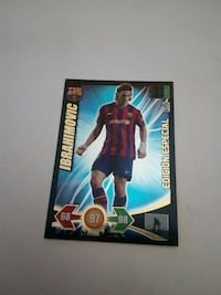 Cromo Ibrahimovic Adrenalyn 2009-10