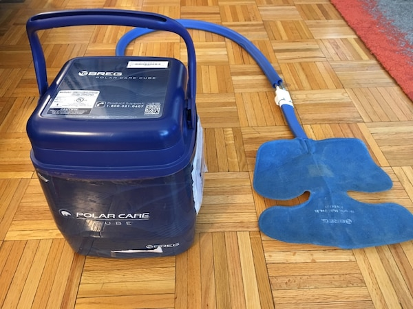 Ice machine for Hip Surgery