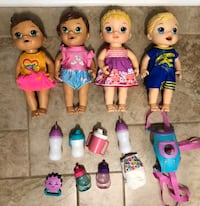 Baby alive dolls lot  Williamsburg, 23185