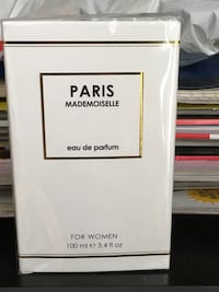 100 ml paris mademoiselle perfume box Vaughan