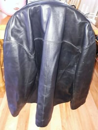 black leather zip-up jacket Kamloops, V2C 2Y9