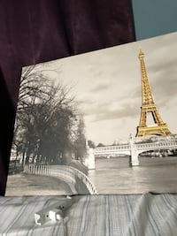 Eiffel Tower and Paris painting Glendale, 91206