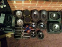 Assorted car audio equipment Ijamsville, 21754