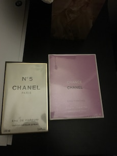 two Channel perfume boxes
