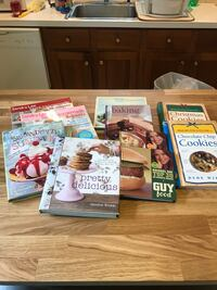 Lot of cookbooks Watertown, 02472