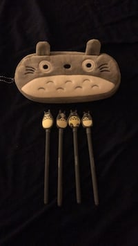 Totoro pencil case and pens Clarksville, 21029
