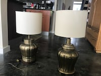Brass table lamps (2) Lake Worth, 33460