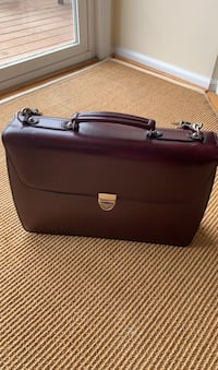 Jack George leather Briefcase like new