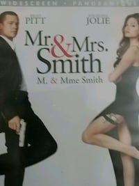 dvd mr and mrs smith Vancouver, V5X 1T2