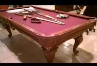 8ft solid slate pool table 30 km