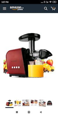 KOIOS Slow Masticating juicer Extractor Mississauga, L5R 3Z5