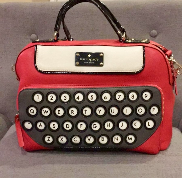 """Used  AUTHENTIC  Kate Spade """"All Typed Up"""" Clyde Bag for sale in San ... d8581035bf2e8"""