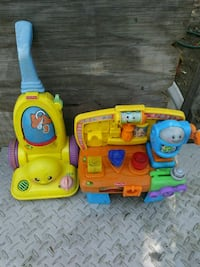two multicolored Fisher-Price musical plastic toys Bakersfield, 93307