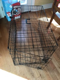 Metal folding Crate cage kennel for dogs or cats Large size