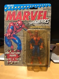 Marvel superhero Spider-Man action figure