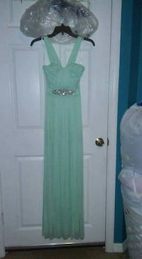Light Sea Blue Green Dress