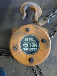 3 ton chain hoist $100 obo Chester County, 19362