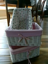 Baskets for children's room/arts and crafts