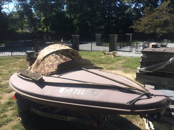 Duck Hunting Boats For Sale >> Used South Bay Duck Hunting Boat With Motor And Trailer For Sale In