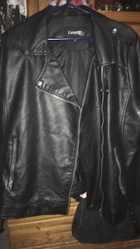 Leather jacket by George plus