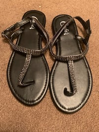 Black sandals Norfolk, 23502