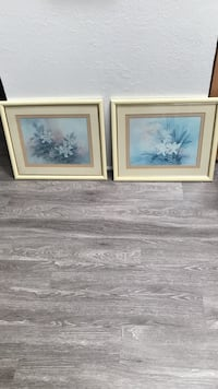 2-Framed Flower Lithographs Mililani, 96789