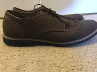 Size 12, brown dress shoes  Springfield, 22153