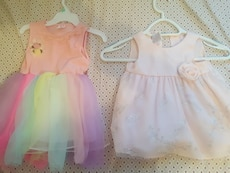 girl's two frocks