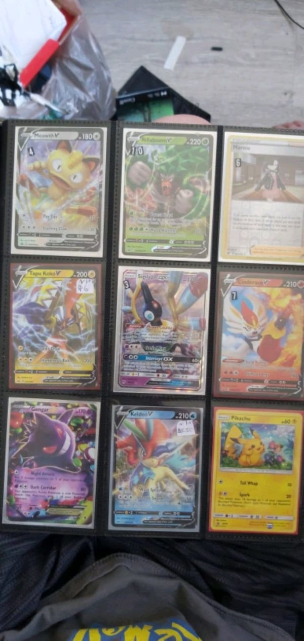 Pokemon card collection for sale  a96ecae9-1d1b-4d46-8a02-d987e7814c1d