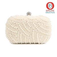 100% Hand made Luxury Pearl Clutch bags Women   Mississauga, L5M 5J2