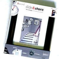 NEW SLIDE & STORE PICTURE FRAME
