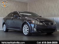 2008 Lexus IS IS 250 AWD 6-Speed Sequential Nashville