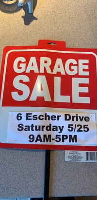 garage sale today  Marlboro, 07746