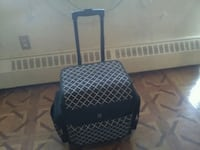 Suitcase with loombands and other accessories