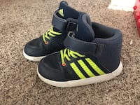 adidas blue / lime green Bakersfield, 93313